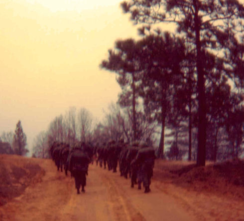 Fort Polk, Louisiana, 1964