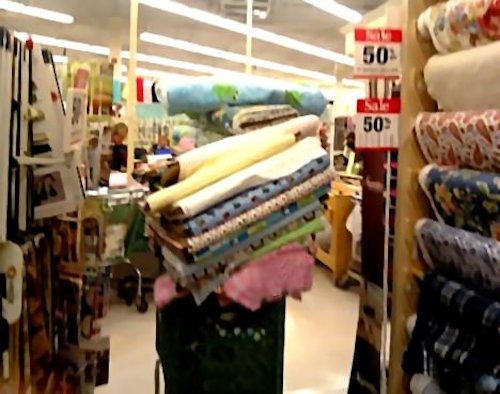 A fabric store in Provo, Utah