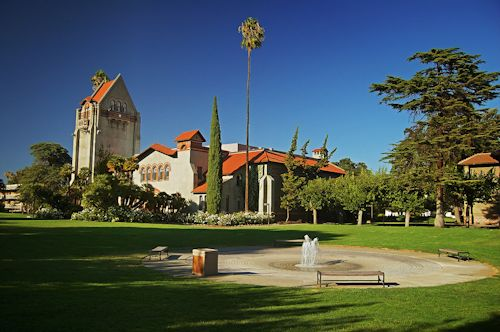Tower Hall, landmark, San Jose State University