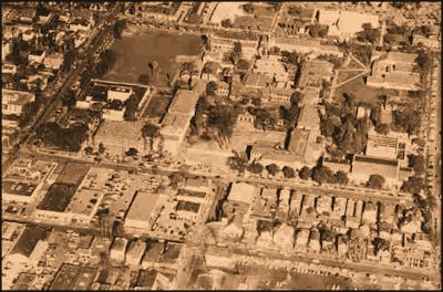 1955 Aerial View of San Jose State College