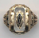 Brigham Young High School class ring