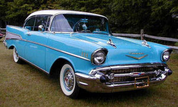 1957 Chevy - Sky Blue