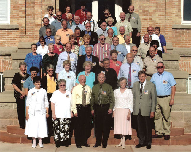 The BYH Class of 1957 in 2007