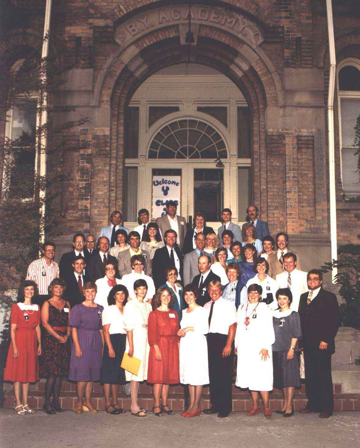 BYH Class of 1964 -- 20th Reunion in 1984