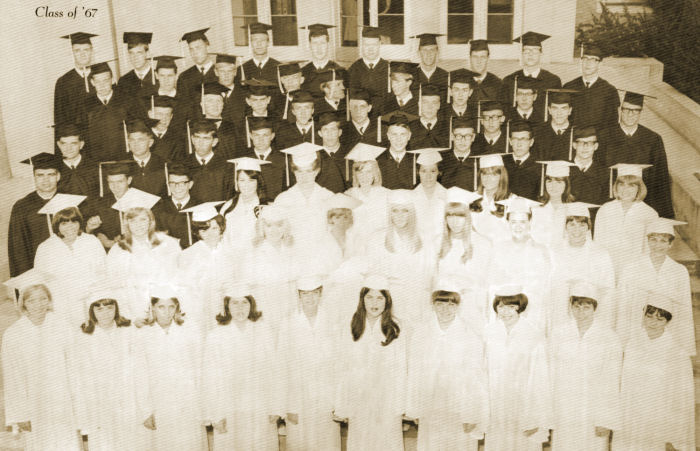 BYH Class of 1967 Graduation Photo
