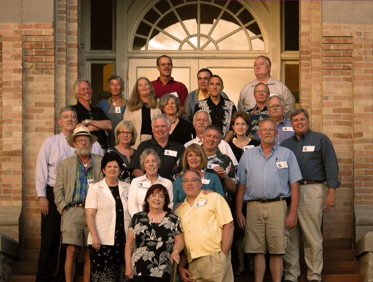 The BYH Class of 1969 in 2009.