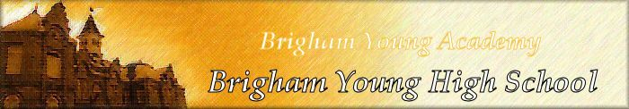 Brigham Young High Banner No. 28- 122
