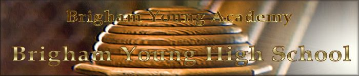Brigham Young High Banner No. 32 - 150