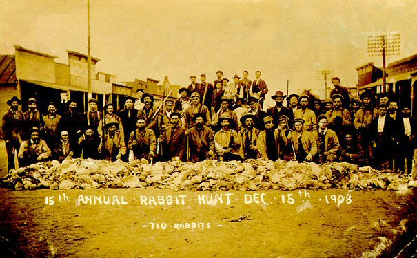 1908 - 15th Annual Rabbit Hunt