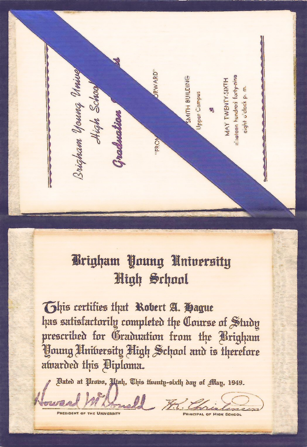 Brigham Young High School Diploma