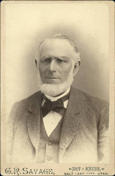 Abraham O. Smoot portrait by C.R. Savage