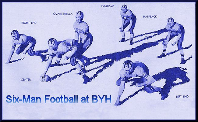 BYH six-man football positions