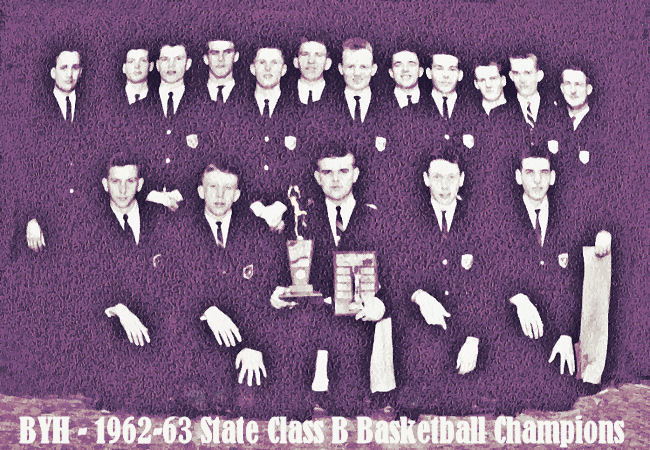 Brigham Young High 1963 Basketball Champions