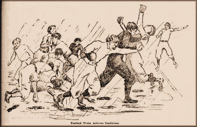 1897 Football Mudder - BYA vs YMCA - No headgear!