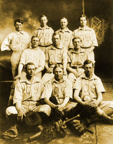1909 Brigham Young High School Baseball Team
