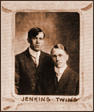 Twins, Joseph & Hyrum Jenkins, '13