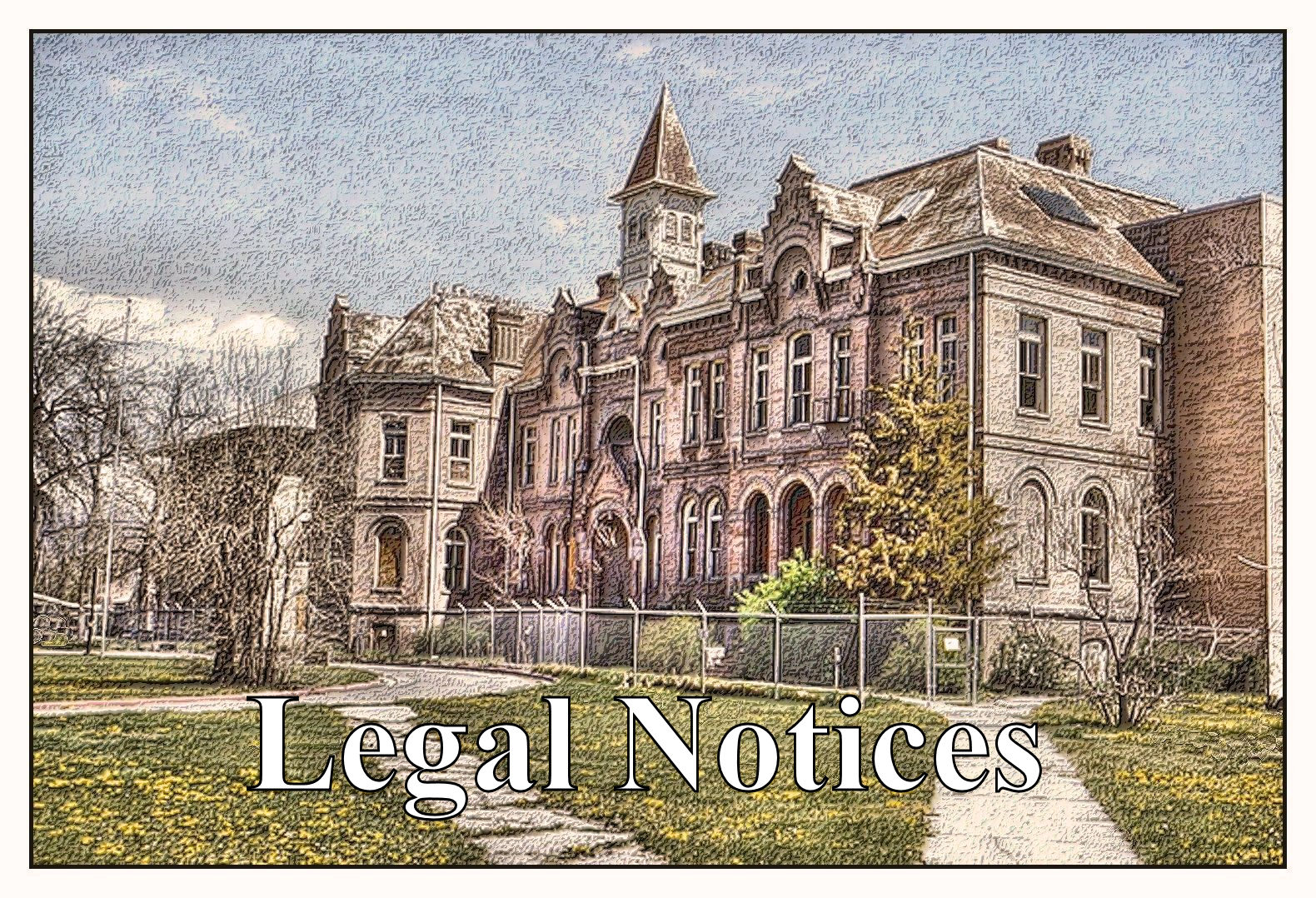 Legal Notices for the BYA / BYH Website